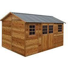 x 2 53 x 2 55m hollydean cedar shed