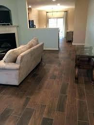 brick for interior floors tile idea wood vs hardwood cost look with black grout dapple gray