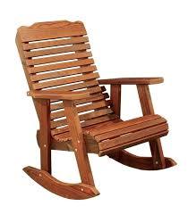 best outdoor rocking chairs cedar wood contoured chair modern outdoor ideas