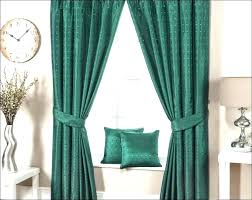turquoise blackout curtains dark grommet light
