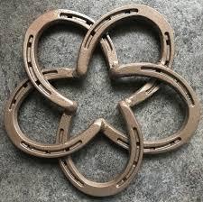 horseshoe celtic knot texas star trivet