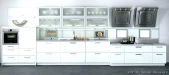 White Modern Kitchen White Modern Kitchen Cabinets And Decor Inside