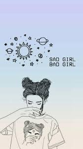 Sad Girl Bad Girl Wallpaper In 2019 Bad Girl Wallpaper