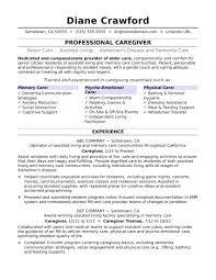Resume Eye Grabbing Caregiver Resumes Samples Child Care