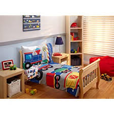 Everything Kids  Choo Choo 4pc Toddler Bed Set