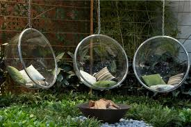 upholstered hanging chairs with pergola l andscape contemporary