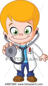 doctor clipart for kids. Simple Doctor Clipart  Kid Doctor Fotosearch Search Clip Art Illustration Murals  Drawings And Inside Doctor For Kids K