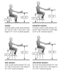 Bar Stool Size Chart Measuring For The Correct Bar Stool Size Seat Height