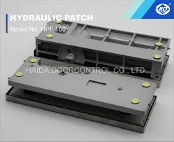 hydraulic patch fitting non digging floor hinge closer for glass door