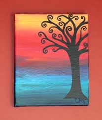easy art painting ideas easy canvas painting ideas for toddlers umdesign
