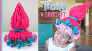 Trolls Crochet Hat Pattern Stunning Gorro De TROLLS A Crochet TROLLS Crochet Hat SUBTITLES YouTube