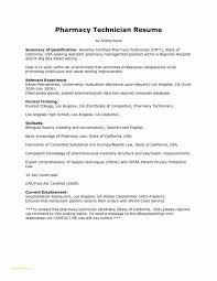 Pharmacy Technician Resume Objective Mesmerizing Sample Tech Resume Pharmacy Technician Resume Example As Great