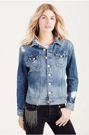 true religion womens clothing high quality true religion gigi trucker jacket womens in destroyed g true religion jeans true religion