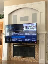 O Mount Tv Above Fireplace For Is The Premier Pull Down Over  92 Best Stone