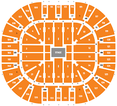 The Classic Center Seating Chart Seating