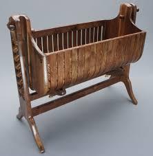 living room modern wood bassinet baby cradle design teak baby