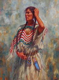 878x1194 native american women art white wolf james ayers american indian painting artists