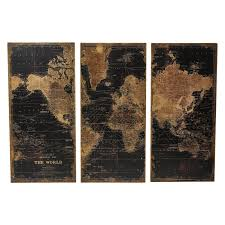 Www Wall Decor And Home Accents Aspire Home Accents Stanford World Map Wall Decor Set of 100 69