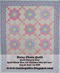 Alexa, I want you to make me this Daisy Chain Quilt :) | Sewing ... & Daisy Chain Quilt Pattern. Combines traditional piecing with simple  appliqué. by TazzieQuilts on Etsy Adamdwight.com