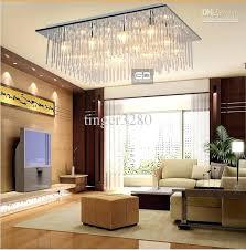 modern lighting ideas. Modern Lighting For Living Room Fashion Square Ceiling Bedroom Lamps Glass Rod . Ideas