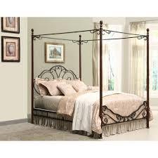 Adison Metal Queen Canopy Bed Walmart