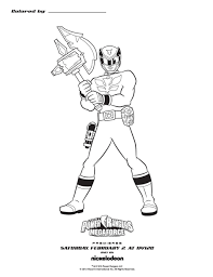 Coloriage Power Rangers Dino Super Charge Unique Samurai Printable