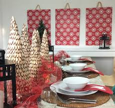 diy d cor easy holiday wall art utr co blog wallpaper main image 570x540 upscale panels made with wrapping paper