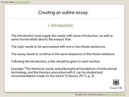 custom essays creating an outline essay  essay uk com 4
