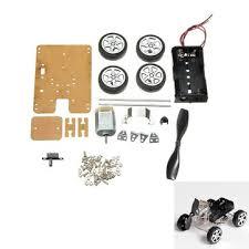 <b>Mini Wind Car 130</b> Brush Smart Robot Car DIY Kit with Motor - US ...