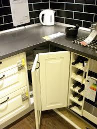Ikea Kitchen Corner Cabinet Narrow Kitchen Cabinets With Doors Best Home Furniture Decoration