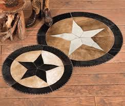 star cowhide rugs