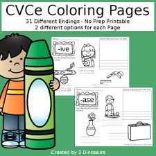 Word Family Coloring Pages Cvce Word Family Coloring Pages