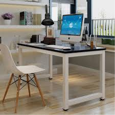 sturdy office desk.  Office Simple Fashion Life Style Computer Desk Office With Metal Legs Sturdy  Enough  Made Of Throughout Office Desk U