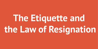 the etiquette and the law of teacher resignation career advice the etiquette and the law of teacher resignation