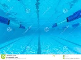 swimming pool lane underwater