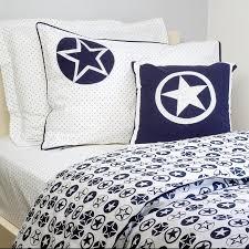 navy star children s duvet set