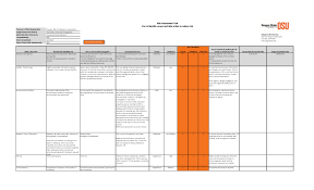 Business Risk Analysis Template New Risk Assessment Tool › Risk ...