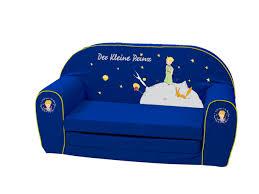 Un divano piccolo a due posti permette di sfruttare questo mobile in situazioni in cui lo spazio deve essere sfruttato nel modo migliore possibile. Divano Per Bambini Il Piccolo Principe 87684 Colore Blu Divani Casa E Cucina