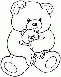 Small Picture 14 best Bear Coloring Pages images on Pinterest Bear coloring