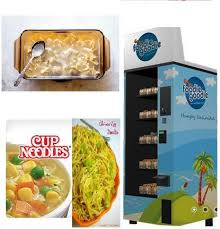 Cup Of Noodles Vending Machine Classy Foodie Goodie Noodles Vending Machine Rs 48 Piece Beta