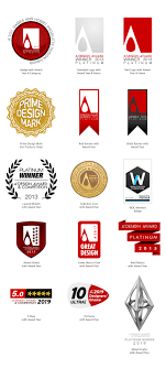 A Design A Design Award And Competition Award Logo And Badges