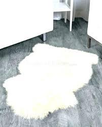 fur rug mesmerizing sheepskin cool white fuzzy rugs costco octo large bespoke lamb fur rug