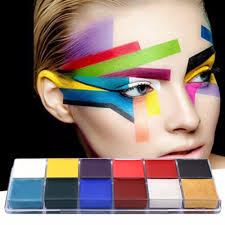 professional face paint oil painting art make up party kit sets