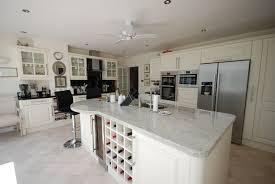 Ivory Kitchen Kilberry Ivory Painted Kitchen With Colonial White Black Granite