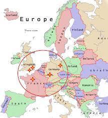 No existe un acuerdo unánime sobre qué territorios. Mapa Mapa Europa Holanda