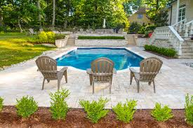 traditional swimming pool hot tub
