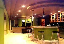 unfinished basement lighting ideas. Basement Lighting Ideas Plain Open Ceiling  Low Image Of Inside . Unfinished