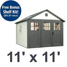 8x8 storage shed plans lifetime fold doors ft outdoor building sheds home ideas design de