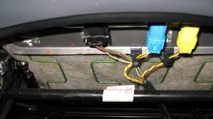 will r56 seats fit in a r53 page 2 the connector for the airbag is ok but on the r56 s seats after disconnected the black box you have 4 connectors 5 for the passager s seat yellow is the