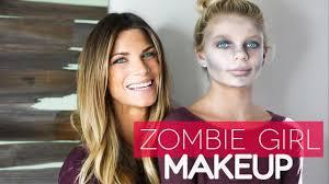 easy dead zombie makeup for kids halloween 2016